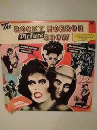 Look>> Rocky Horror Picture Show Album Cover clock Vaughan