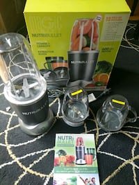 Nutribullet blender w/accessories San Francisco, 94108