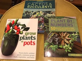 Coffee Table Books / Plant Themed / Perfect Mom Type Christmas Gift
