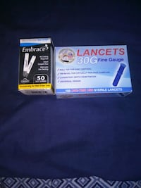 Lancets and testing strips (100) ct Lawton, 73505