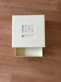 white and pink wooden photo frame Camrose