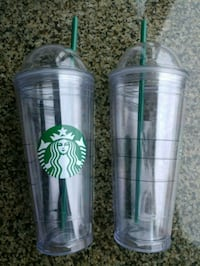 2 Two Starbucks Insulated Cups Hong Kong