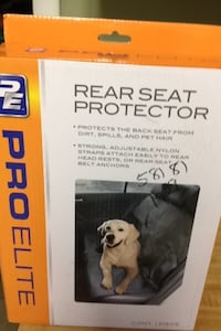 Seat protector new in box. For messy kids or pets Guntersville, 35976