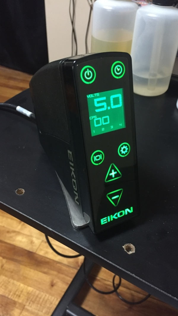 Used Eikon EMS420 Tattoo power supply for sale in Chicago - letgo