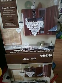 Beautiful oil rubbed bronze crystal pendants  Cullman County