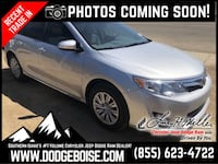 2013 Toyota Camry SUNROOF! LOW MILES! GAS SVER! Boise