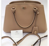 LEATHER COACH PURSE: Margo Caryall Brampton, L6Z
