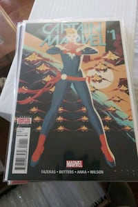 Captain Marvel 1-8