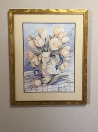 """""""Flowers"""" Wall Hanging"""