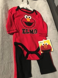 Brand new Elmo long sleeved 2 piece set - size 3-6 month