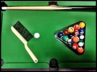 Mini Billiards & Foosball Table WASHINGTON