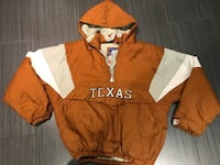 brown and white The North Face zip-up jacket Toronto, M6B 1C9