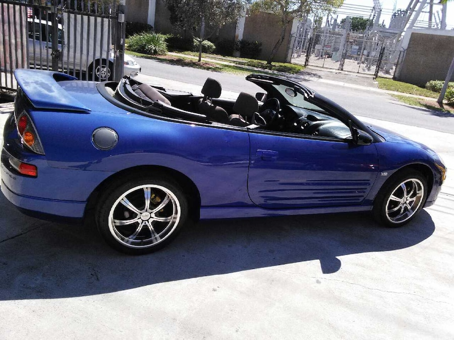2005 mitsubishi eclipse gt spyder convertible car in. Black Bedroom Furniture Sets. Home Design Ideas