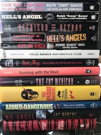 20 Biker/true crime books/undercover stories