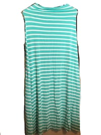 Pastel Green and White Maxi Skirt Bowie, 20716
