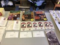3 Norm Abram books and many VHS tapes and shop drawings.  Catonsville, 21228