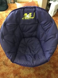 blue and yellow The North Face bean bag 阿什兰, 44805