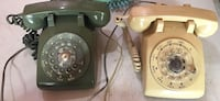 Vintage Rotary Phones - Green and Beige (1970s or 80s) - $50 each Orangeville, L9W 4P7