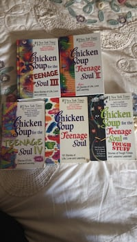 Chicken soup for the teenage soul books. all in good condition