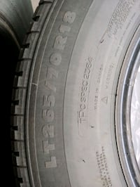 Tires 4 Michelin LT265/70R18 Calgary, T3G 0B7