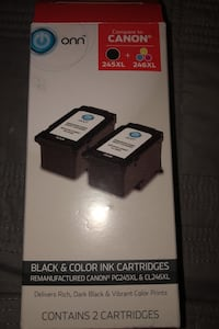 Black and Color ink cartridges