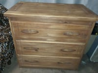 STURDY WOOD DRESSER Blue Mound, 76131