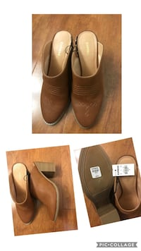 Brand new express Western Heeled Mules size 8 (pick up only) Alexandria, 22315