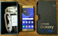 Galaxy S7 Edge 32GB UNLOCKED (Like-New) Gold  Arlington