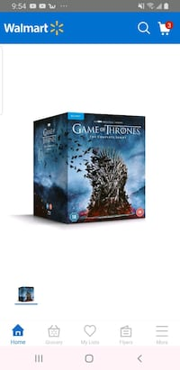 Game of thrones blu-ray The complete series+ the complete 7th season  Guelph, N1H 2Z6