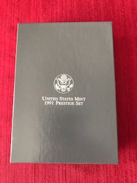 1991 U.S. Mint Prestige silver and clad coin set Pearland, 77584