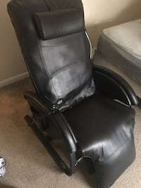 black leather office rolling armchair Lorton, 22079