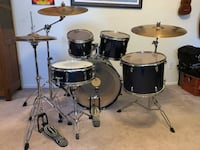 Black Hawk Gretsch 5pc Drum Set Virginia Beach, 23456