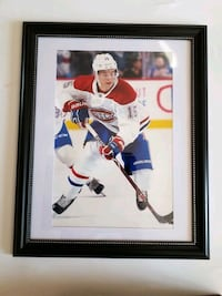 8x12 framed photo  of Jesperi Kotkaniemi #49 Laval, H7P 5V3