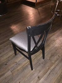 Black wooden chairs with cloth cover & pad Bethesda, 20814
