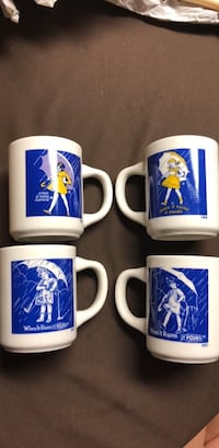 Vintage When it Rains it Pours Mugs Annandale, 22003