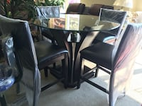 New 5 pcs dining table set  德卢斯, 30097