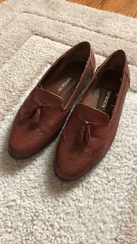 Womens Size 7 Leather Oxford Flats Shoes with Tassels Dayton, 45440
