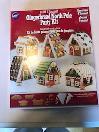 Gingerbread North Pole Party Kit Alexandria, 22306
