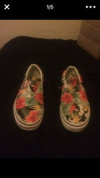 """Size 10 US men's Vans """"Digi Alohas"""" special edition sneaker as featured on HighSnobriety!!! Seattle, 98122"""