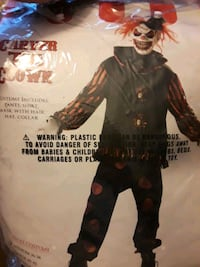 Clown Costume,gloves and shoes not included Woodfin, 28804