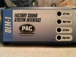 PAC OEM-1 Ford F150 add an amplifier