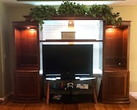 Entertainment center (Used) 4 pieces Jacksonville, 32244