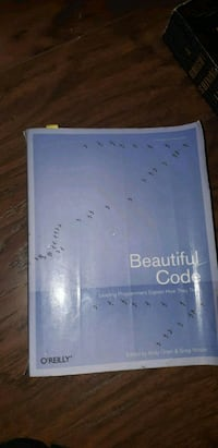 Beautiful Code Text Book Newmarket, L3X 1W5