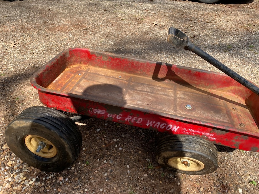 Photo Big Red Wagon Low Rider $125.00