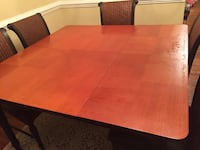 Dining table with six chairs in excellent  price Henrico, 23228