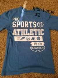 blue and white crew-neck t-shirt Springboro, 45066
