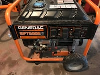 Black and orange Generac generator (Parts Only) South Sterling, 18445