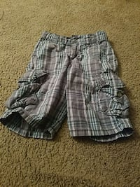 gray and black plaid shorts Northport, 35476