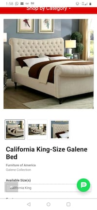 King size bed use by 6month great condition  Kenner, 70003
