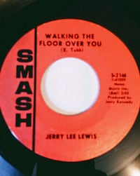 1968 Jerry Lee Lewis 45 WALKING THE FLOOR OVER YOU Arvada, 80004